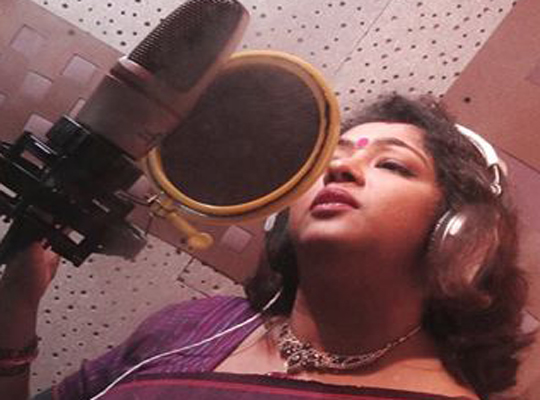 during the recording of the BENGALI SONG album